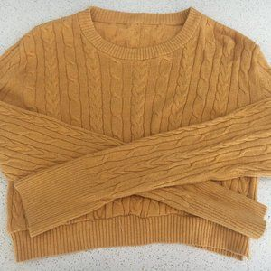 Urban Outfitters Renewal Vintage Cropped Sweater